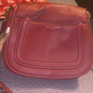 Marc Jacobs red leather purse